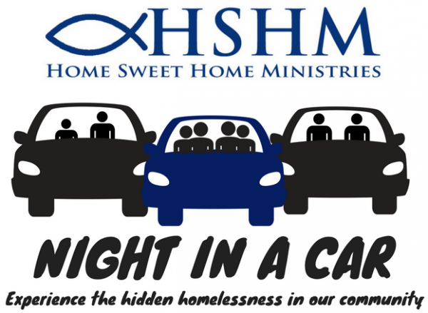 Night in a Car - Home Sweet Home Ministries: Experience the hidden homelessness in our community
